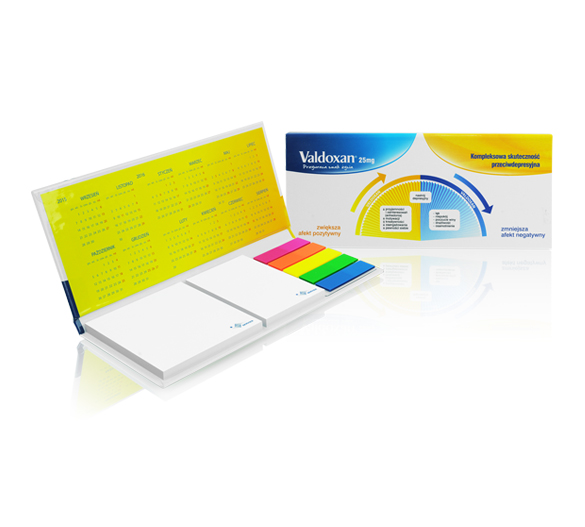 PM130 Sticky notes set in hardcover