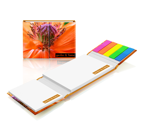 PM140 Sticky notes set in hardcover
