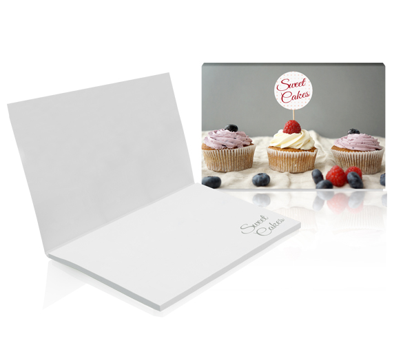PM011b Sticky notes in softcover