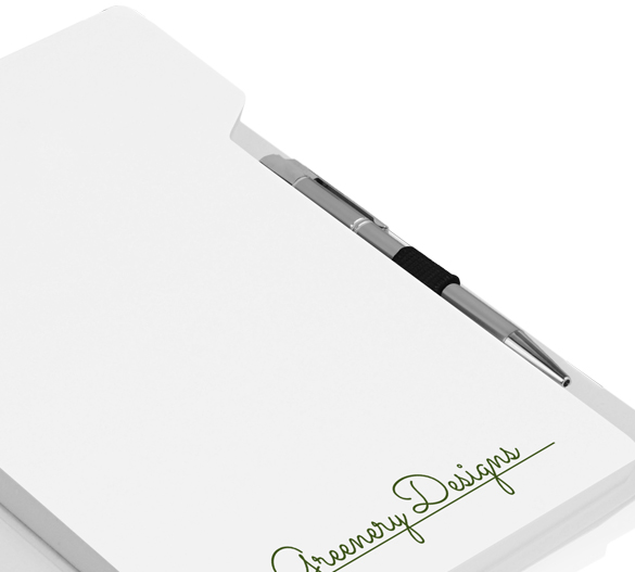 PM028b Notepad in softcover