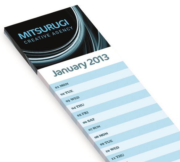 PM291 Softback calendar