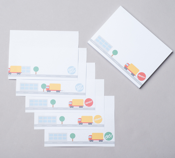 PM004-FLIPBOOK Sticky notes with animation (flip book)
