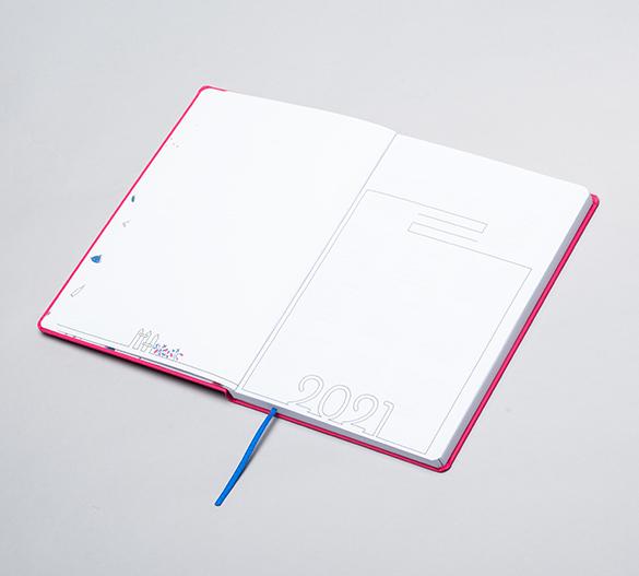MN35-CAL-ROMA Mindnotes® diary in a ROMA flexi hardcover